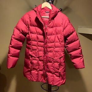 LL Bean down winter coat